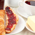 ontbijt · croissant · jam · binnenshuis · beker · eten - stockfoto © wavebreak_media