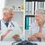 männlich · Senior · Patienten · Arzt · medizinischen · Büro - stock foto © wavebreak_media