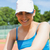 pretty tennis player smiling at camera stock photo © wavebreak_media