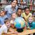 maestro · escuela · primaria · geografía · clase · mujer · ninos - foto stock © wavebreak_media