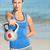 beautiful fit woman holding dumbbells stock photo © wavebreak_media