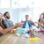 creative business people throwing paper in the air stock photo © wavebreak_media