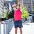 ハンサム · 選手 · 腕 · ストレッチング · 肖像 - ストックフォト © wavebreak_media