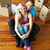high angle of a couple sitting on floor moving house stock photo © wavebreak_media