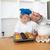 özenli · baba · oğul · mutfak · ev - stok fotoğraf © wavebreak_media