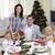ouders · kinderen · vieren · christmas · diner · Turkije - stockfoto © wavebreak_media