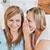 два · тесные · женщины · друзей · говорить · вместе - Сток-фото © wavebreak_media