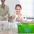 little · girl · reciclagem · criança · mundo · garrafa - foto stock © wavebreak_media