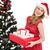 улыбаясь · Рождества · подарки · зима · одежду - Сток-фото © wavebreak_media