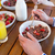 happy family having breakfast together stock photo © wavebreak_media