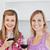 heldere · vrouwelijke · vrienden · permanente · keuken · glimlachend - stockfoto © wavebreak_media
