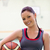 Young woman practicing basketball in a gymnasium stock photo © wavebreak_media