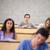 portre · genç · Öğrenciler · ders · kamera · odak - stok fotoğraf © wavebreak_media