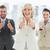 confident business team gesturing thumbs up stock photo © wavebreak_media