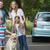 幸せな家族 · 4 · 車 · ピクニック · 肖像 · 家族 - ストックフォト © wavebreak_media