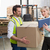 менеджера · склад · коробки · цифровой · таблетка · человека - Сток-фото © wavebreak_media