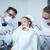 dentista · ayudante · examinar · ninas · dientes · dentistas - foto stock © wavebreak_media