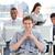 presentatie · ambitieus · business · team · werk · kantoor · man - stockfoto © wavebreak_media