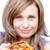 pizza · beyaz · gıda · sağlık - stok fotoğraf © wavebreak_media