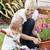 aile · renkli · çiçekler · bahçe · çiçek · bahar - stok fotoğraf © wavebreak_media