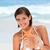vrouw · zeester · hemel · water · hand · vis - stockfoto © wavebreak_media
