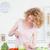 dobrze · wygląda · gotowania · warzyw · kuchnia · kobieta - zdjęcia stock © wavebreak_media