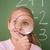 schoolmeisje · naar · vergrootglas · klas · kind - stockfoto © wavebreak_media