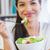 ビジネス女性 · 食べ · サラダ · 昼休み · 市 · 公園 - ストックフォト © wavebreak_media