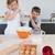 children baking cookies in kitchen stock photo © wavebreak_media