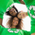 recycleren · symbool · groene · tshirt · man · tonen - stockfoto © wavebreak_media