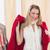 donna · abbigliamento · guardando · specchio · abito · bella - foto d'archivio © wavebreak_media