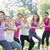 fitnessz · csoport · játszik · háború · napos · idő · boldog - stock fotó © wavebreak_media