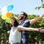 彼氏 · ガールフレンド · リラックス · 公園 · 草 · 少女 - ストックフォト © wavebreak_media