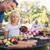 Senior · Mann · Grill · Familie · Essen · Park - stock foto © wavebreak_media