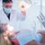női · fogorvos · megvizsgál · fogak · fogorvosok · szék - stock fotó © wavebreak_media