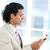 zakenman · lezing · krant · kantoor · nieuws · uitvoerende - stockfoto © wavebreak_media