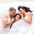 portret · szczęśliwą · rodzinę · dywan · blisko · wraz · uśmiechnięty - zdjęcia stock © wavebreak_media