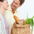 paar · Maakt · een · reservekopie · markt · groenten · liefde - stockfoto © wavebreak_media