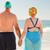 plaj · kadın · kız · gülümseme · spor - stok fotoğraf © wavebreak_media