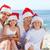 turquesa · Navidad · brillante · estrellas · fondo · verde - foto stock © wavebreak_media