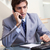 fiatal · üzletember · beszél · telefon · munka · telefon - stock fotó © wavebreak_media