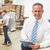 boss using digital tablet in warehouse stock photo © wavebreak_media
