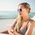 gyönyörű · szőke · nő · napos · idő · tengerpart · nő · nyár - stock fotó © wavebreak_media