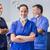 portré · fogorvos · keresztbe · tett · kar · műtősmaszk · fogászati · klinika - stock fotó © wavebreak_media