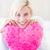 mooie · jonge · vrouw · kussen · bed · portret - stockfoto © wavebreak_media
