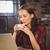 kadın · dizüstü · bilgisayar · kullanıyorsanız · fincan · kahve · stok · fotoğraf - stok fotoğraf © wavebreak_media