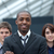 zakenman · leidend · team · jonge · gezicht · werk - stockfoto © wavebreak_media