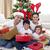 felice · giovani · famiglia · Natale · home - foto d'archivio © wavebreak_media