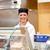 Portrait of a smiling food retailer in her shop stock photo © wavebreak_media