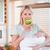 jóvenes · madre · recién · nacido · manzana · alimentos · frutas - foto stock © wavebreak_media